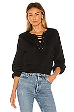 Tularosa Faye Sweatshirt in Black