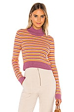 Tularosa Payton Sweater in Tulip Stripe