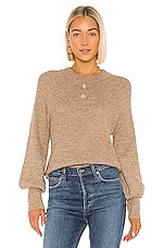 Tularosa Good Company Sweater in Tan