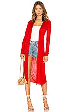 Tularosa Sandy Duster in Bright Red