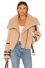 Tularosa Bailey Moto Jacket in Camel