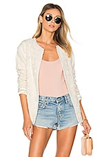 x REVOLVE Rowena Jacket in Natural