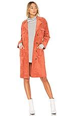 Tularosa x REVOLVE Vanessa Coat in Rust