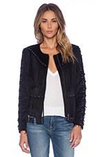 Tularosa Dallas Fringe Jacket in Black