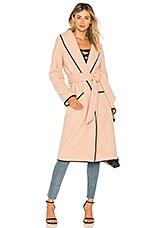 Tularosa Nadia Coat in Blush