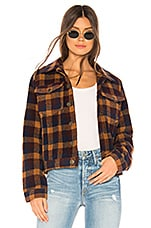 Tularosa Ariel Jacket in Brown Plaid