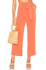 Tularosa Parker Pant in Salmon