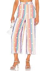 Tularosa Lois Pant in Multi Stripe