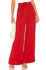 Tularosa Molly Pant in Red