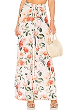 Tularosa Lillian Pant in Peach Floral