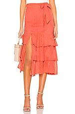 Tularosa Copeland Skirt in Coral