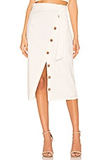 Tularosa Page Skirt in White