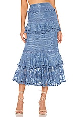 Tularosa Addie Skirt in Slate Blue