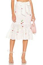 Tularosa Emerie Skirt in Ivory
