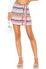 Tularosa Virginia Skirt in Multi Stripe