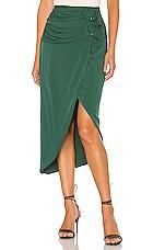 Tularosa Avalynn Skirt in Emerald Green