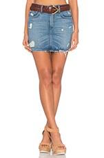 Aubrey 5 Pocket Mini Skirt in Bali