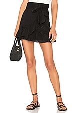 Tularosa x REVOLVE Maida Ruffle Skirt in Black