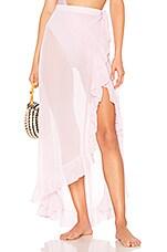 Tularosa Nala Wrap Skirt in Lilac