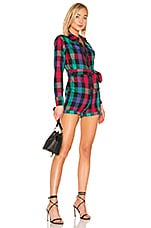 Tularosa Lucille Romper in Black Check