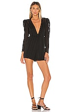 Tularosa Masie Romper in Black
