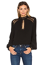 Tularosa Coco Blouse in Black