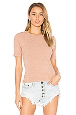 Beck Top in Rose