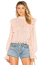 Tularosa El Segundo Top in Rose Pink