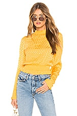 Tularosa Paisley Top in Mustard