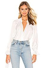 Tularosa Ashley Bodysuit in White