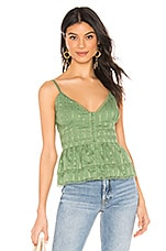 Tularosa Polly Top in Mint Green