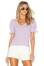 Tularosa Quinn Top in Lavender