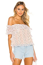 Tularosa Camari Top in Ivory