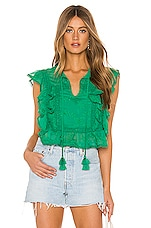 Tularosa Cole Blouse in Green