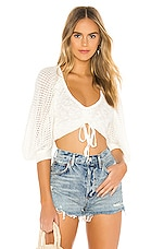 Tularosa Poppy Top in Ivory