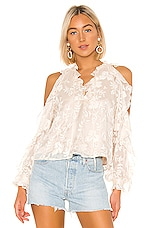 Tularosa Maureen Blouse in Cream