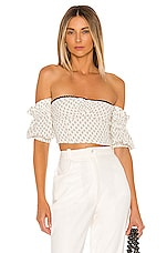 Tularosa Barbra Top in Cream Tile