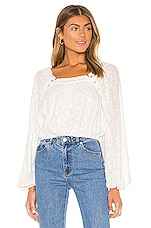 Tularosa Mae Top in White
