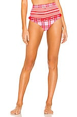 Tularosa Thessy Bottom in Pink Plaid