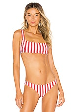 Tularosa Karmen Top in Red Stripe