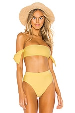 Tularosa Felicity Top in Yellow