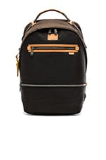 Alpha Bravo Cannon Backpack in Black & Brown