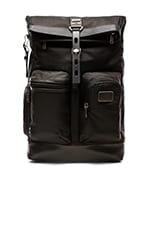 Alpha Bravo Luke Roll-Top Backpack in Hickory