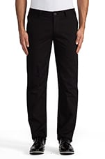 Straight Leg Trouser in Black