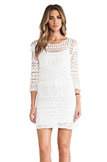 Crochet Dress in White