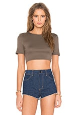 TOP CROPPED PERFECT RIB