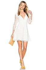 Two Arrows Coastal Dress in White Lace