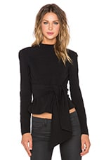 The Harper Bow Top en Noir