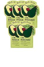 TONYMOLY I'm Avocado Sheet Mask 5 Pack