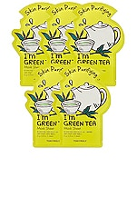 TONYMOLY I'm Green Tea Sheet Mask 5 Pack